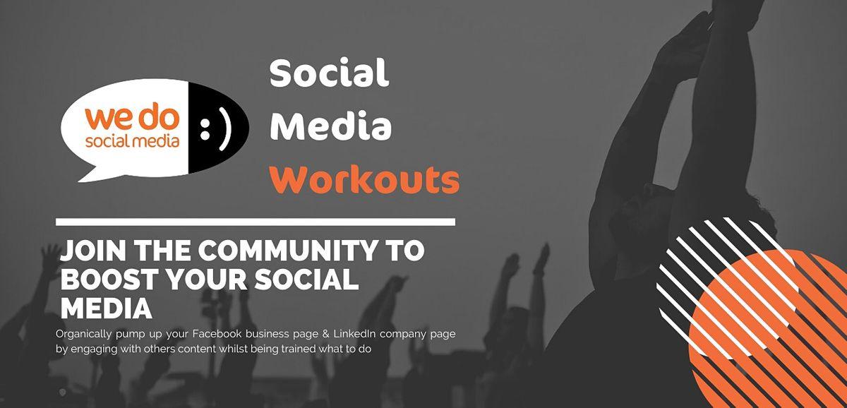 LinkedIn Social Media Workout - FREE 2 Week Trial   Online Event   AllEvents.in