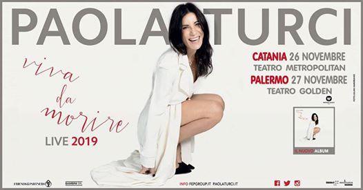 Paola Turci  26 novembre  Catania