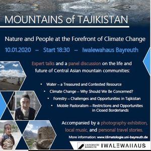 Mountains Of Tajikistan At Iwalewa Haus Bayreuth