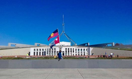 West Papua Petition Presentation and March -Canberra