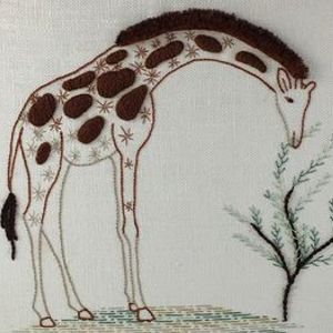 Introduction to Embroidery Contemporary Animal