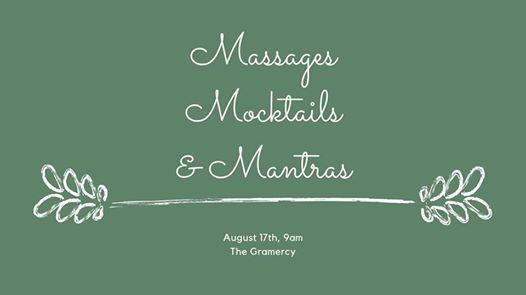 Massages Mocktails & Mantras