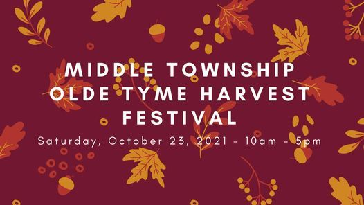 Middle Township's 23rd Annual Olde Tyme Harvest Festival | Event in Cape May Court House | AllEvents.in