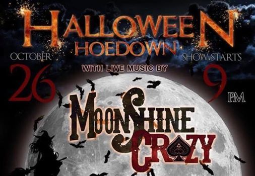 Halloween Hoedown with MoonShine Crazy at Opera House Saloon