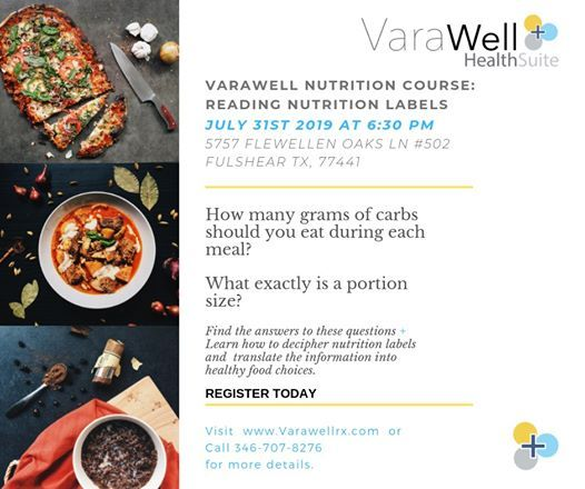 Learn How to Make Healthy Food Choices with Varawell at 5757
