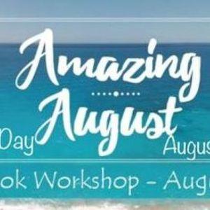 Amazing August 2 Day LIVE Scrapbook Workshop