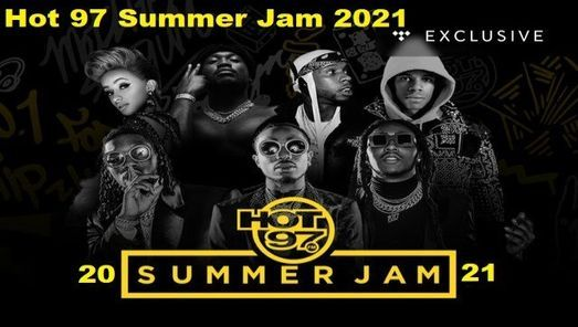Christmas Jam 2021 Lineup Hot 97 Summer Jam 2021 East Rutherford New Jersey United States Chillan June 9 2021 Allevents In