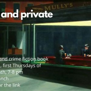 Pints and Private Eyes Book Discussion (Zoom) Centuries of June by Keith Donohue