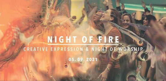 Night of Fire    Creative Expression & Worship Night, 5 September   Event in Johannesburg   AllEvents.in