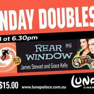 Monday Double Vertigo  Rear Window