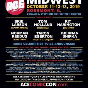 Ace Comic Con at Donald E  Stephens Convention Center