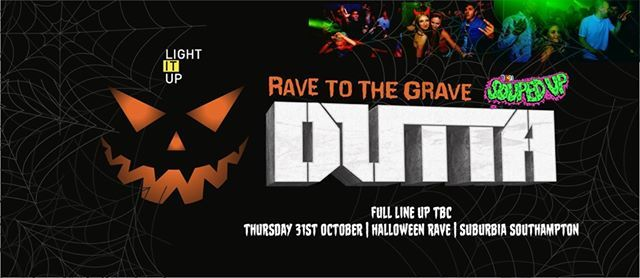 Rave To The Grave  Dutta Halloween Rave