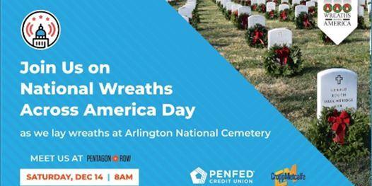 Wreaths Across America - December 14 2019