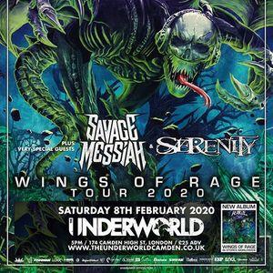 Rage Savage Messiah & Serenity at The Underworld Camden