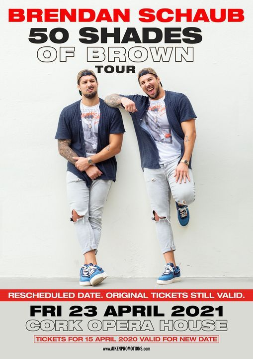 Brendan Schaub, 23 April | Event in Cork | AllEvents.in