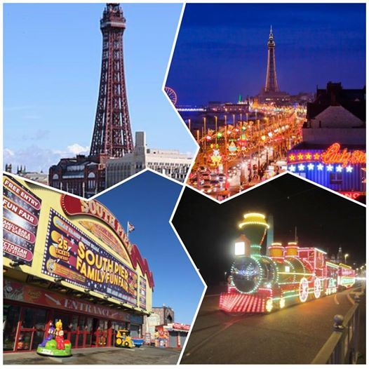 OAP trip to Blackpool including illuminations