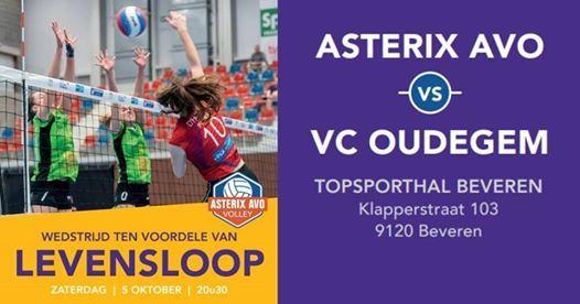 Volley Voor Levensloop At Topsporthal Beveren, Beveren