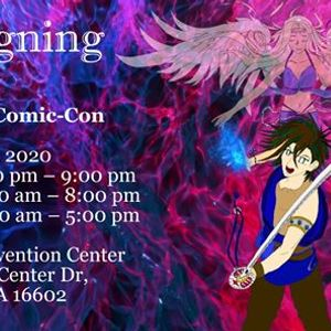 Book Signing at Sci-Fi Valley Con