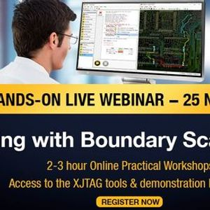 Free Webinar PCB Testing with Boundary Scan  JTAG