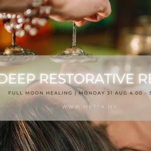 Fully Booked Full Moon Healing Deep Restorative Reset