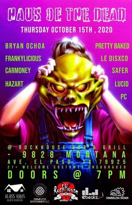 Halloween Events In El Paso Tx 2020 HALLOWEEN PARTY @ GRACEWOOD ((18+ WELCOME   BYOB)) OUTDOOR EVENT