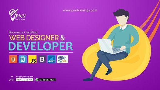 Become a Certified Web Designer and Developer | Event in Lahore | AllEvents.in