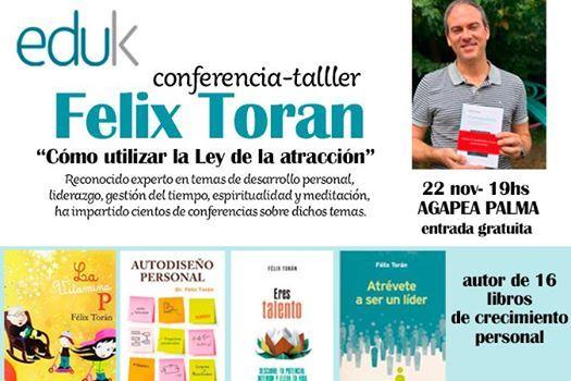 Conferencia- taller Felix Toran en Mallorca