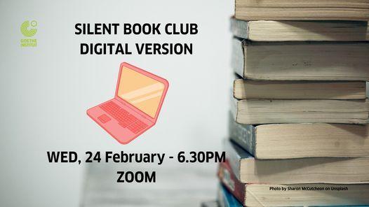 Silent Book Club - Digital Version | Online Event | AllEvents.in