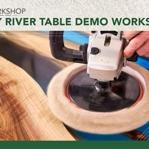 JHB EPOXY River Table Demo Workshop