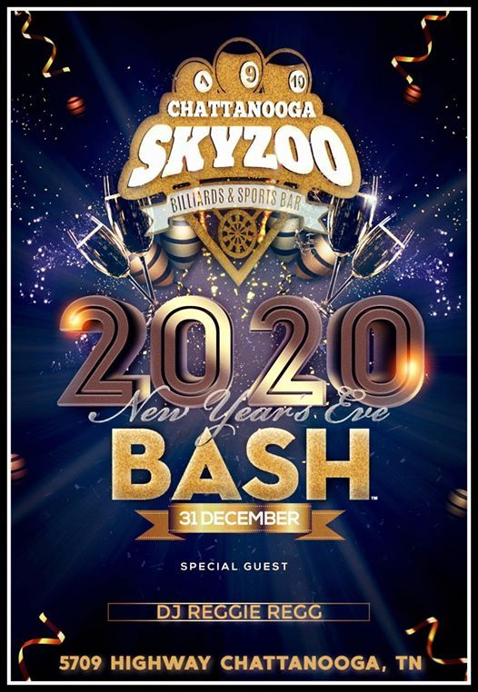2020 New Years Eve Bash! at SkyZoo Chattanooga, Lupton City