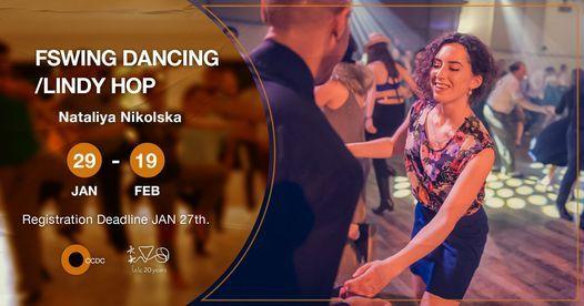 "Swing Dancing/ Lindy Hop ""Open level"" Workshop With Nataliya Nikolska, 29 January   Event in Helwan"