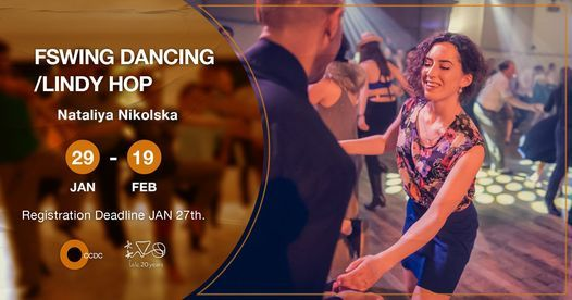"Swing Dancing/ Lindy Hop ""Open level"" Workshop With Nataliya Nikolska, 29 January 