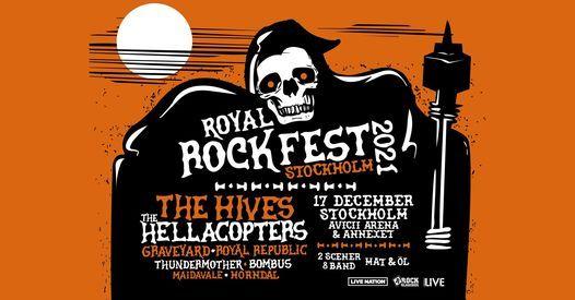 Royal Rock Fest   Avicii Arena & Annexet, Stockholm, 17 December   Event in Solna   AllEvents.in