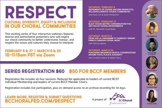 Respect – Workshops on Cultural Diversity, Equity & Inclusion, 6 March | Event in Vancouver | AllEvents.in