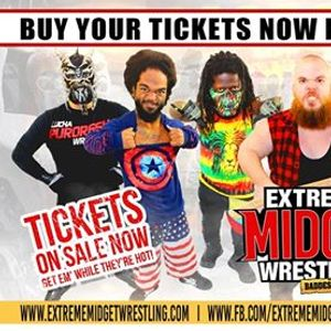 Extreme Midget Wrestling Live in Cypress TX at Bedrock Tavern