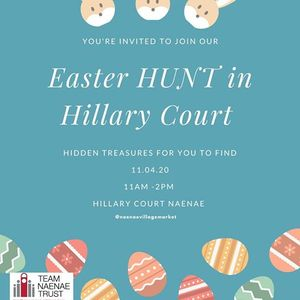 Easter Hunt In Hillary Court
