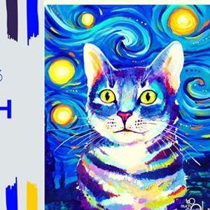 Van Gogh macska - lmnyfests