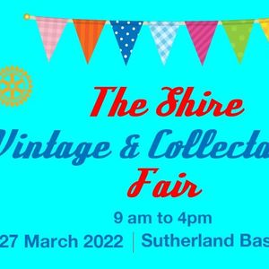 Shire Vintage and Collectables Fair