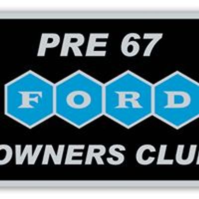 Pre 67 Ford Owners Club