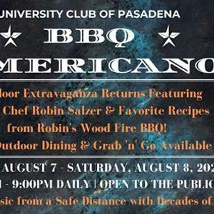 BBQ Americano at the University Club of Pasadena