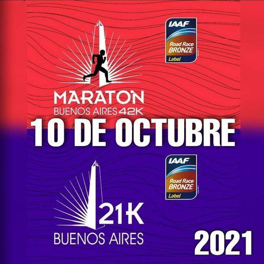 Maratón y Media Maratón de Bs As 2021, 10 October | Event in Sarandí | AllEvents.in