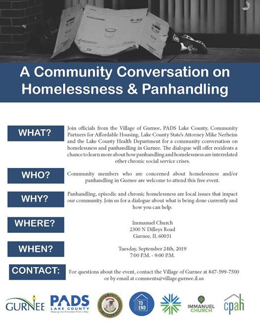 A Community Conversation on Homelessness & Panhandling at