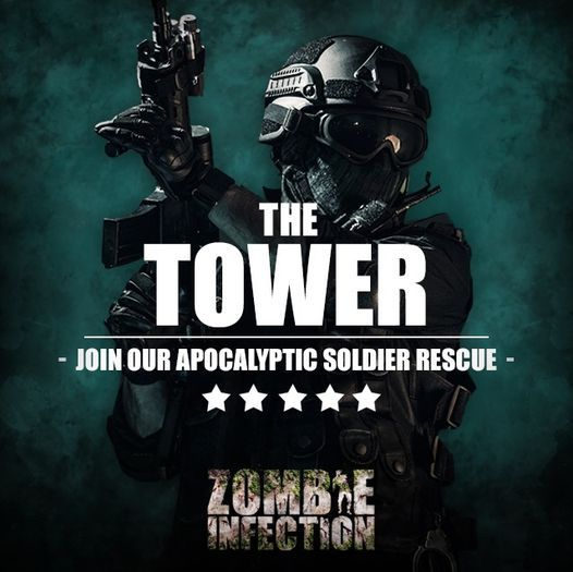 The Tower | Zombie Experience - 5th DEC 2:00PM, 5 December | Event in Liverpool | AllEvents.in