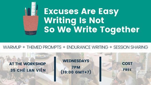 IWN Weekly Creative Writing Workshop (FREE) | Event in Da Nang | AllEvents.in