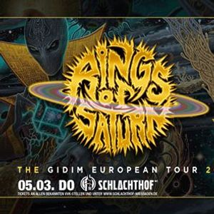 Rings of Saturn  Special Guests  Schlachthof Wiesbaden