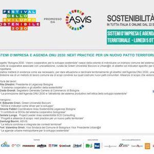 Sistemi dimpresa e Agenda ONU 2030 next practice per un nuovo