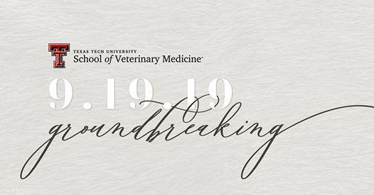 Groundbreaking Ceremony at Texas Tech University Health
