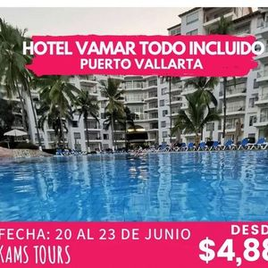 PUERTO VALLARTA HOTEL VAMAR ALL INCLUSIVE MARINA KAMS TOURS