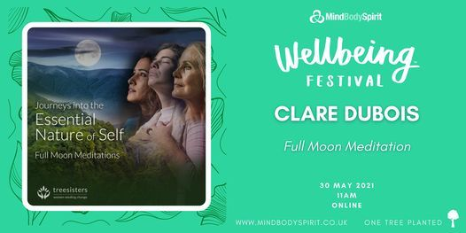 Clare Dubois - Full Moon Meditation, 30 May | Online Event | AllEvents.in