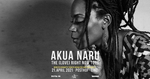 Akua Naru // Linz 2021, 22 April | Event in Randburg | AllEvents.in